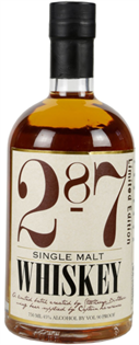 287 Whiskey Single Malt 750ml